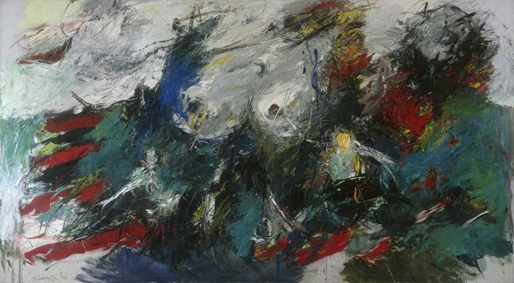 Ger Latatster, oil on canvas, 1966