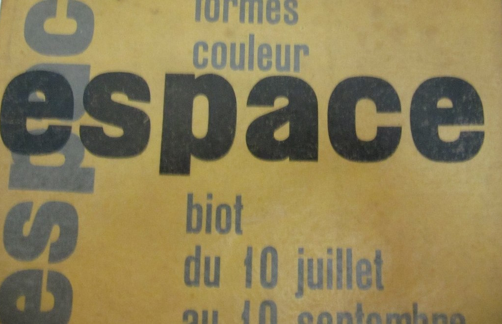 Publication of Groupe Espace from 1954.