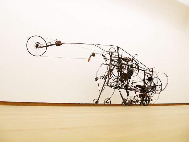 Kinetic work by Jean Tinguely