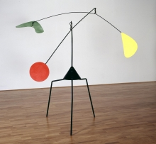 Alexander Calder - Untitled, steel, 1937