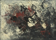 Kees Van Bohemen - oil on canvas, not titled, 1961 (collection Museum van Bommel van Dam)