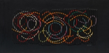 Yaakov Agam - Rencontre de deux intensités, oil on canvas, 1960 (collection Guggenheim museum New York)