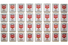 Andy Warhol – Campbell Soup Cans, 1962