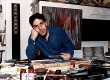 Carlos Cruz-Diez in zijn studio in Parijs - foto: Rafael Navarro