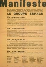 Founding Manifesto from 1951.