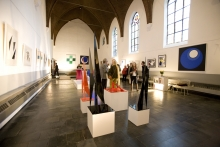 Exposition 'elementaire vormen' with work of Geneviève Claisse