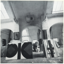 Co-founder Guy Vandenbranden in his studio, Antwerp.