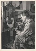 Guy Vandenbranden in zijn atelier.