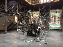 Anselm Kiefer, Der Verlorene Büchstabe in the Antwerp Raamtheater