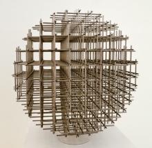 Francois Morellet - Sphere, steel, 1965