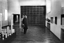 "The expo ""nul"" in the Stedelijk Museum Amsterdam, 1965"