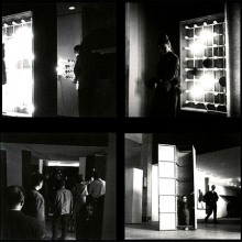 Labyrinthe III, Biennale de Paris Garcia-Rossi, Le Parc, Morellet, Sobrino, Stein, Yvaral - GRAV. Parijs, 1963