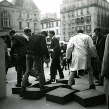 Une journée dans la rue, Parijs, 1966