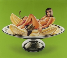 Mel Ramos - bananasplit, 1972 (collection Gunter Sachs)
